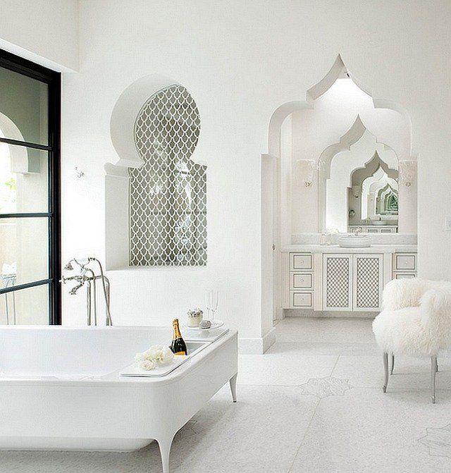 La décoration de Salle de bain marocaine