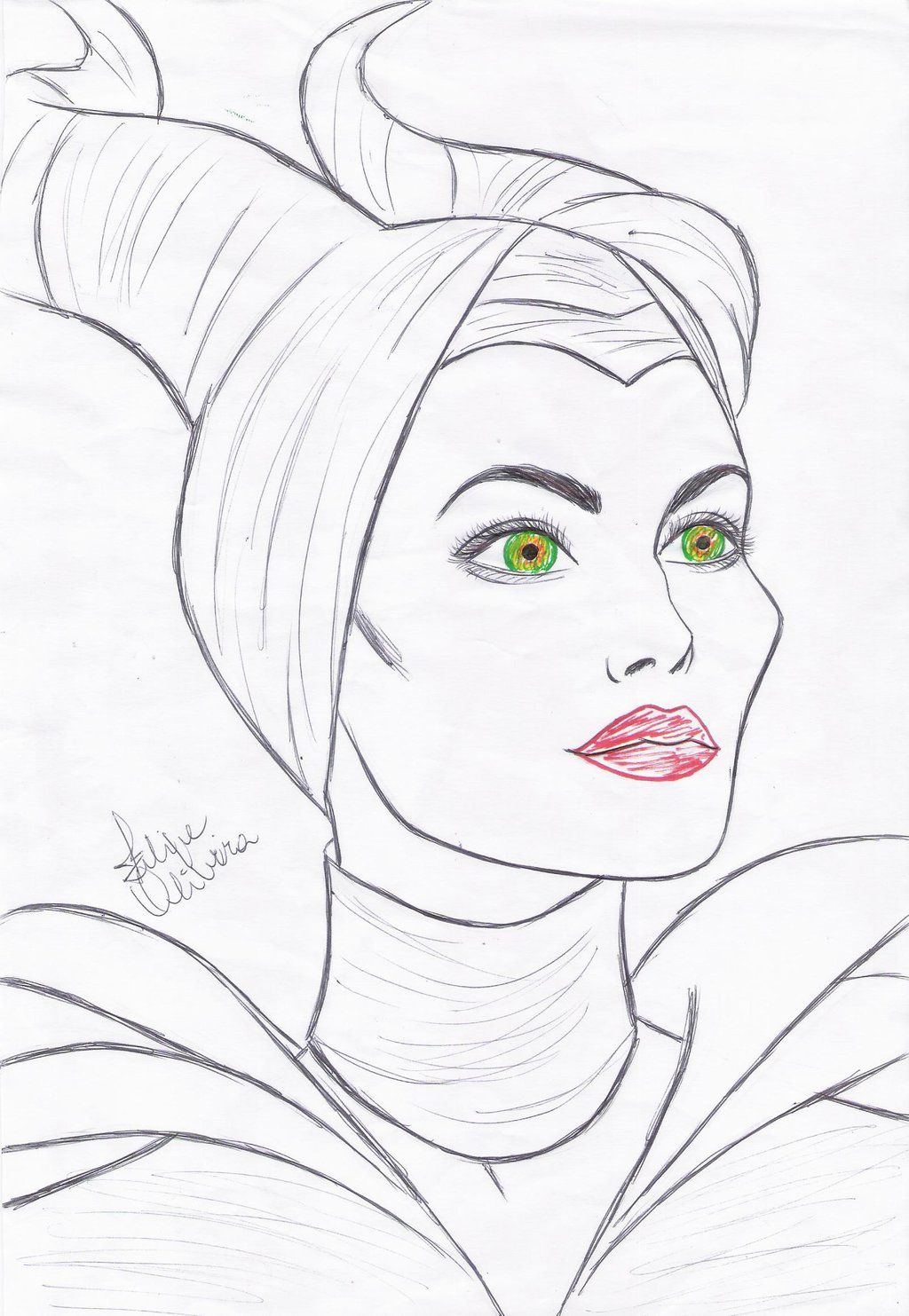 Angelina Jolie Maleficent Angelina Jolie As Maleficent By
