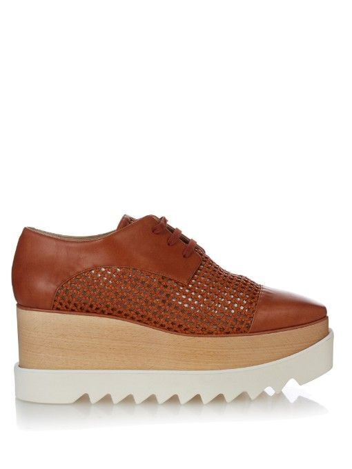 eafa2b10222 Stella McCartney s platform Elyse loafers are loaded with cool ...