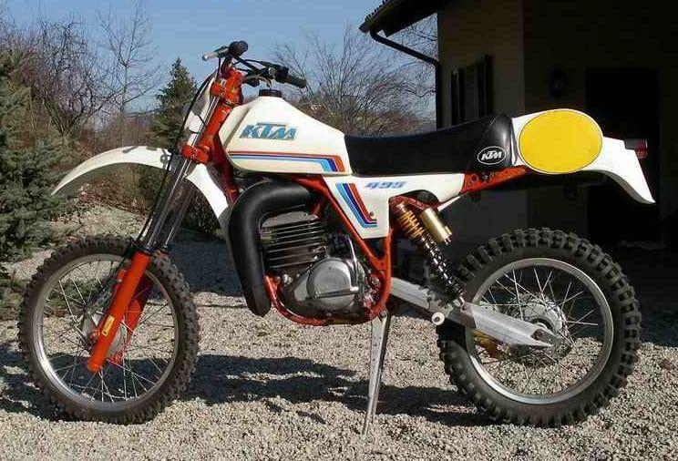 Ktm Gs 495 1982 Motorrad