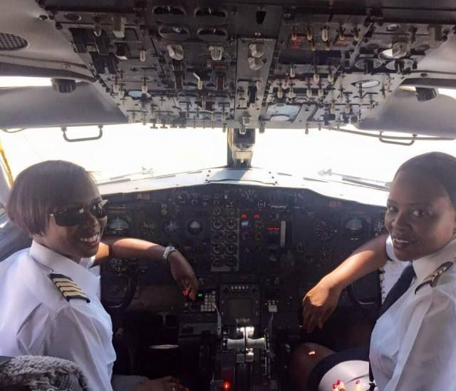 Air Zimbabwe Makes History With 1st All-Female Flight Crew