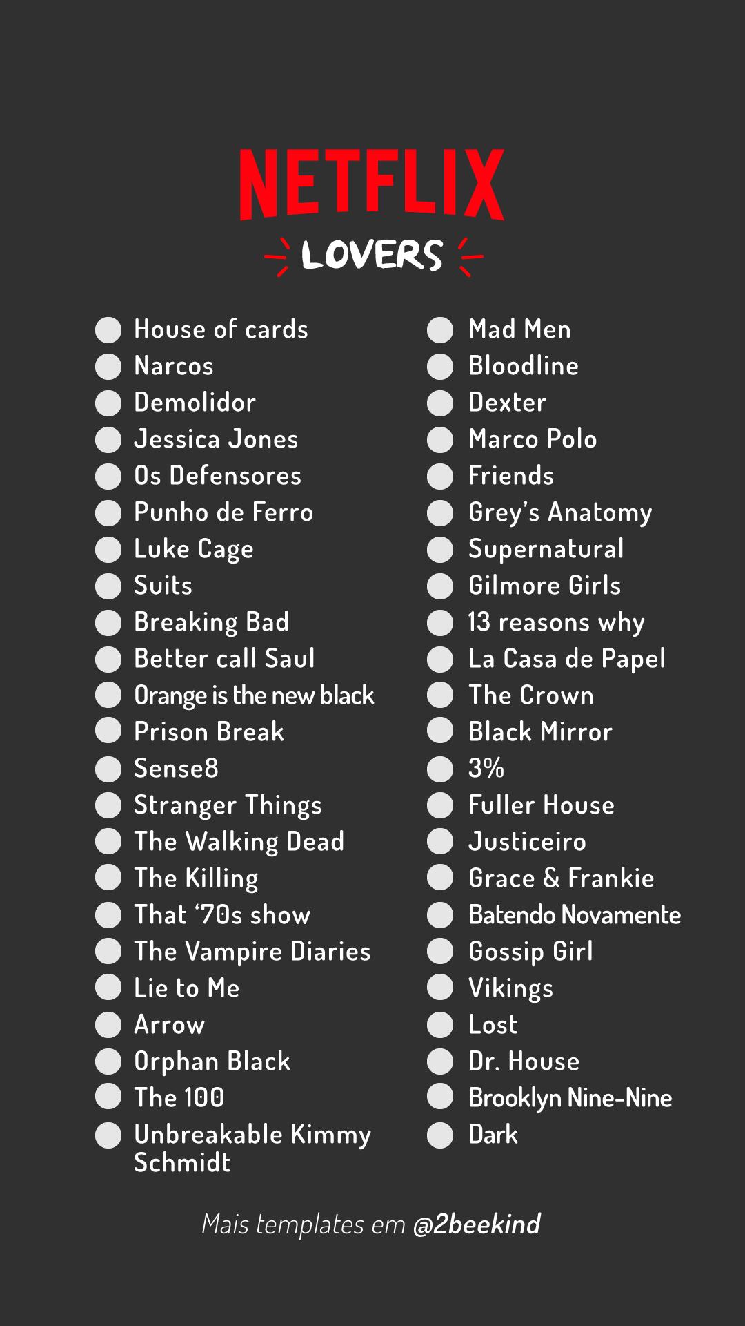 Template Stories Séries Netflix Lovers Filmes Netflix Lista De Filmes Netflix Filmes Para Assistir Netflix