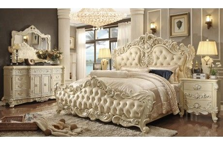 Eskada Victorian Style Bed Collection  Bedroom Furniture Custom Victorian Style Bedroom Decorating Design