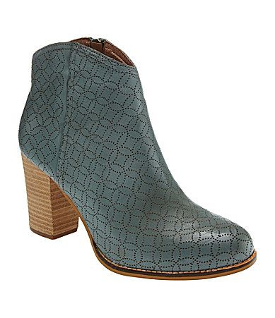 Fossil Valerie WesternInspired Booties #Dillards