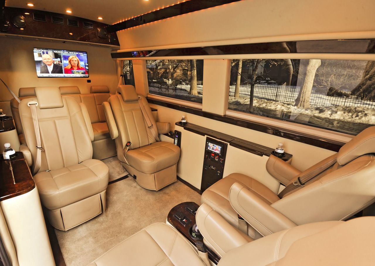 Brilliant Van Mercedes Benz Sprinter Interior 01 Expensive Cool Transportation