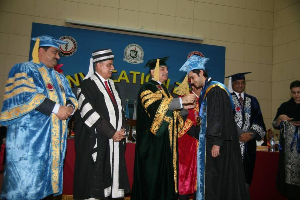 Mian Shehbaz Sharif at CMH Lahore Medical College