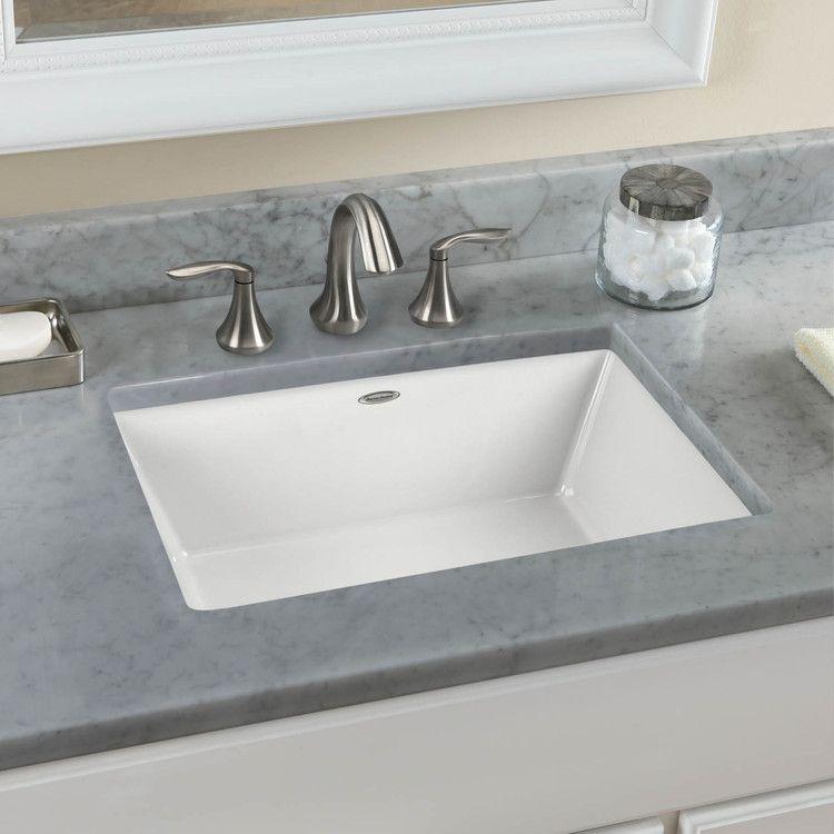 Kitchen Marvelous White Porcelain Single Square Undermount Sink