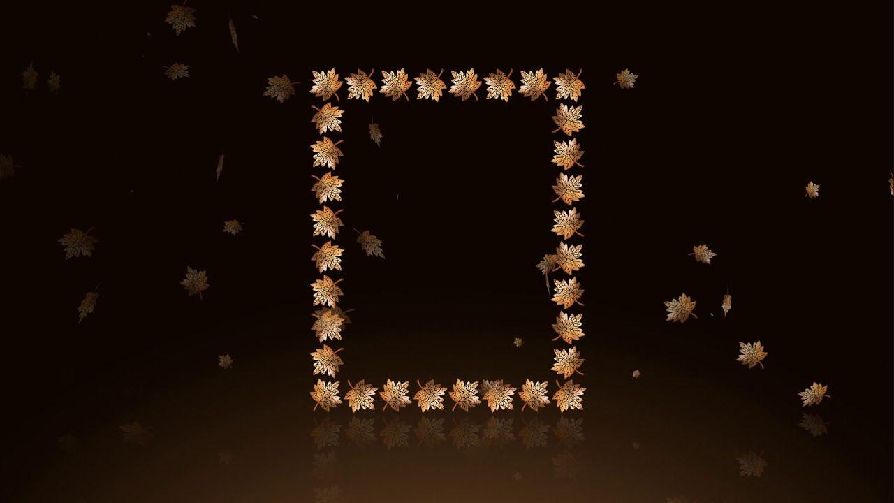 خلفية مع اطار خلفية تساقط أوراق خلفيات للمونتاج After Effect Video H Diamond Jewelry Diamond Necklace