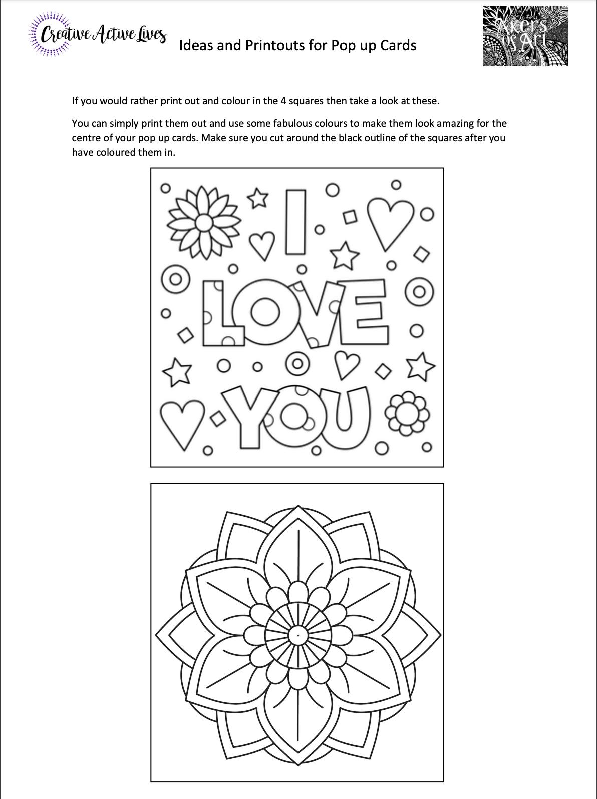 How To Make A I Love U Pop Up Card Valentine S Day Pop Up Card Tutorial Card Tutorial Card Making Videos Valentine S Day Diy