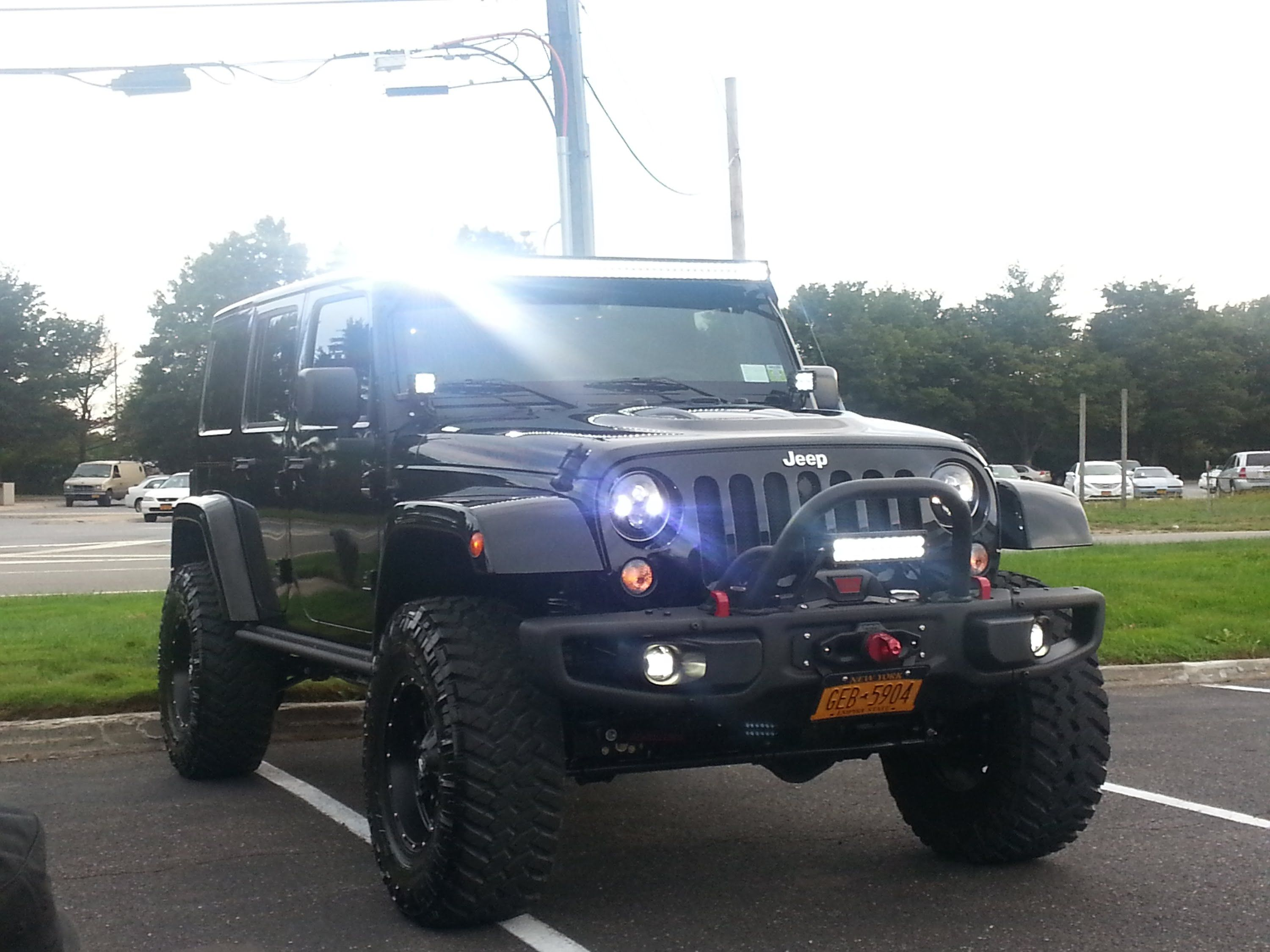 must see lots of mods!!! 2015 jeep wrangler unlimited rubicon hard