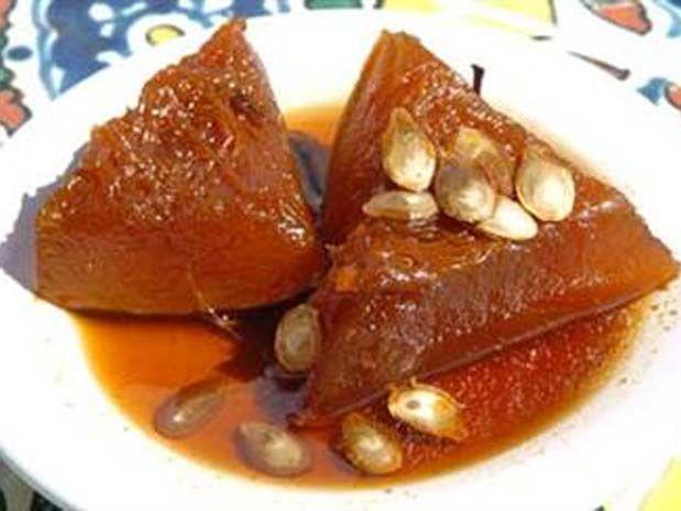 Platos Latinos, Blog de Recetas, Receta de Cocina Tipica, Comida Tipica, Postres Latinos: Dulce de Calabaza en Salsa de Naranja - Dulces Y Postres De Caribe