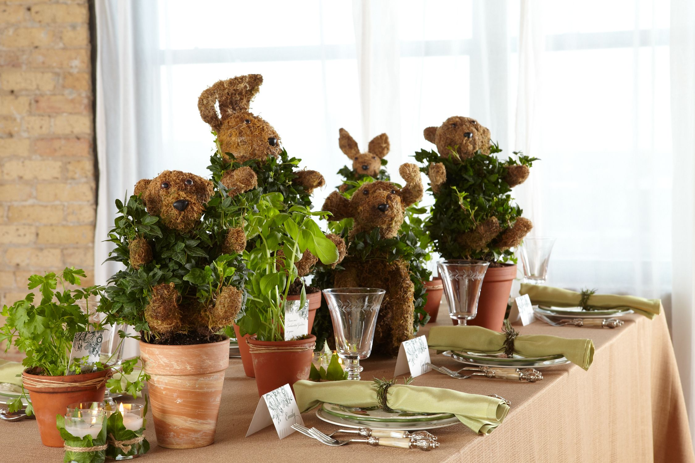 Party Ideas by Garden baby showers, Enchanted garden