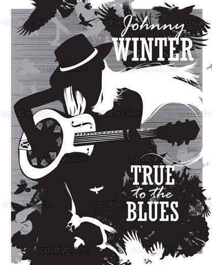 Johnny Winter-poster