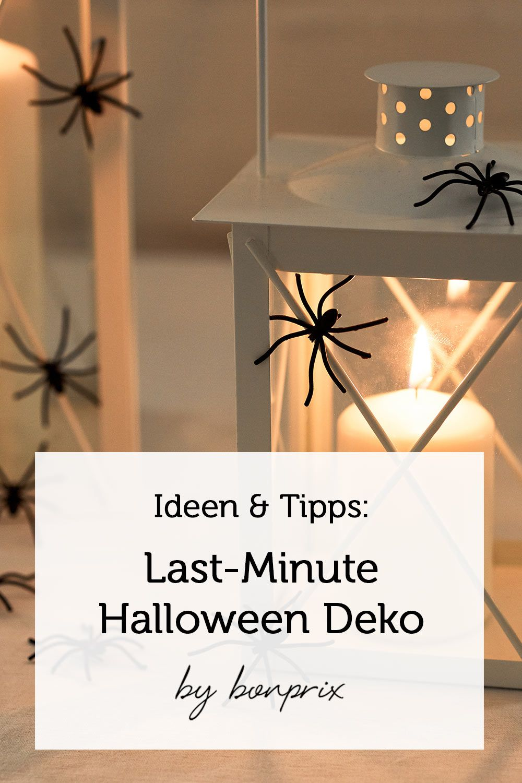 Tipps Tricks By Bonprix Last Minute Halloween Deko Ideen Mit