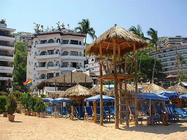 The Puerto Vallarta Blue Chairs Hotel And The Blue Chairs Themselves