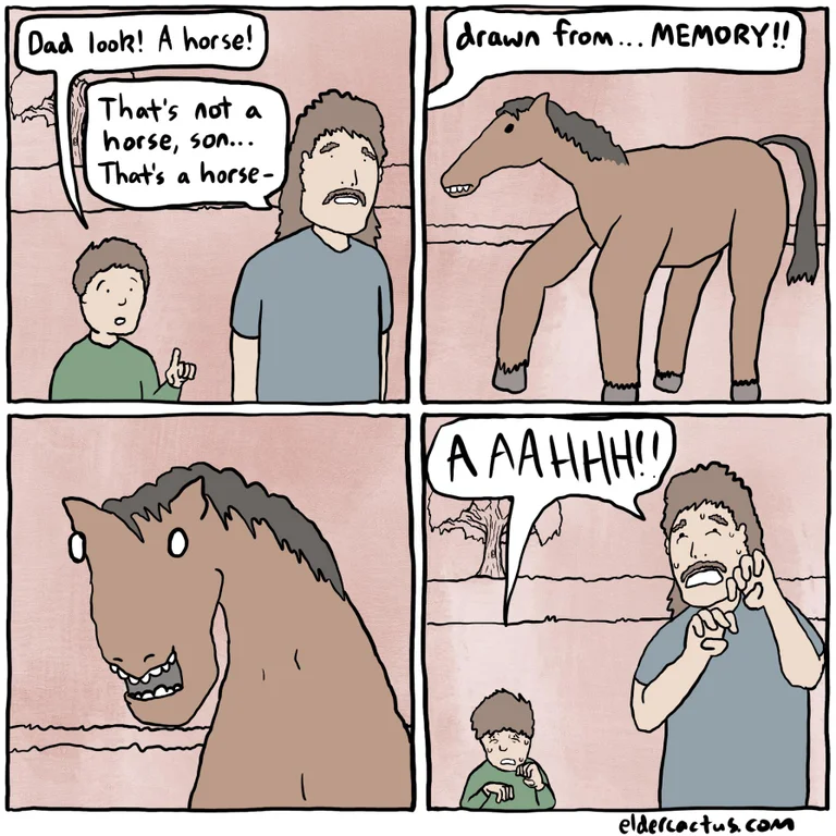 Pin by Bethany Strom on Funny in 2020 Comics, Horse meme