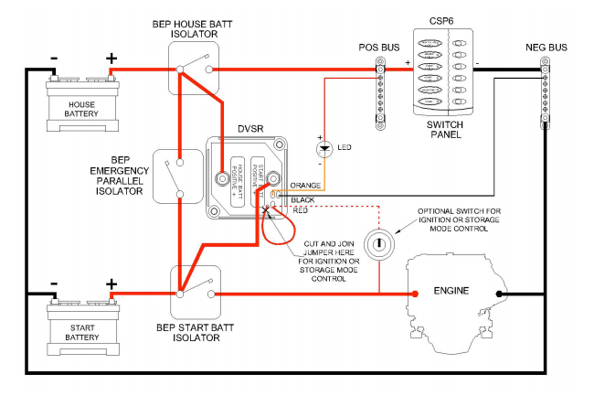dual battery wiring diagram for the disco