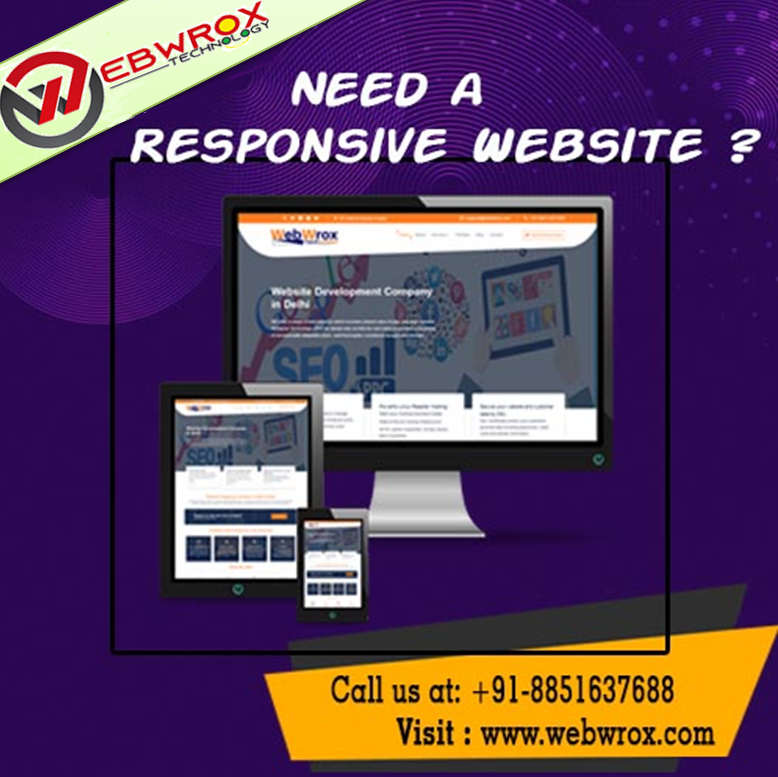 Get a Responsive Website Design or Development to