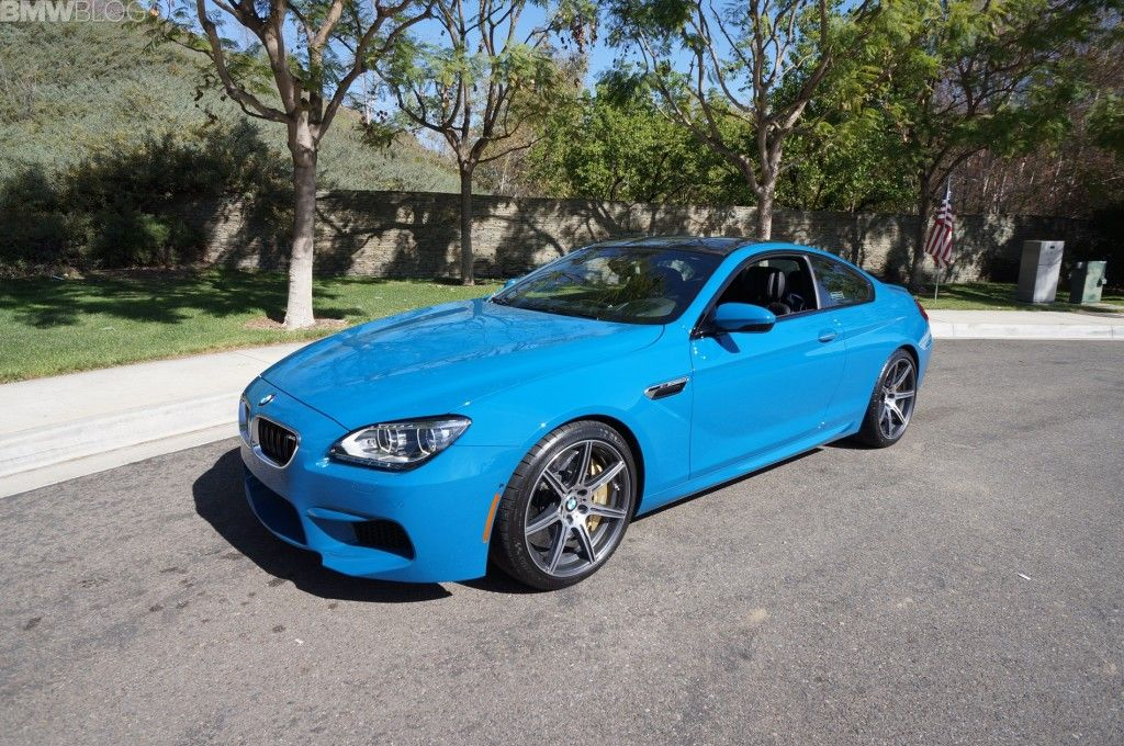 2014 Bmw M6 Coupe Competition Package In Laguna Seca Blue Bmw