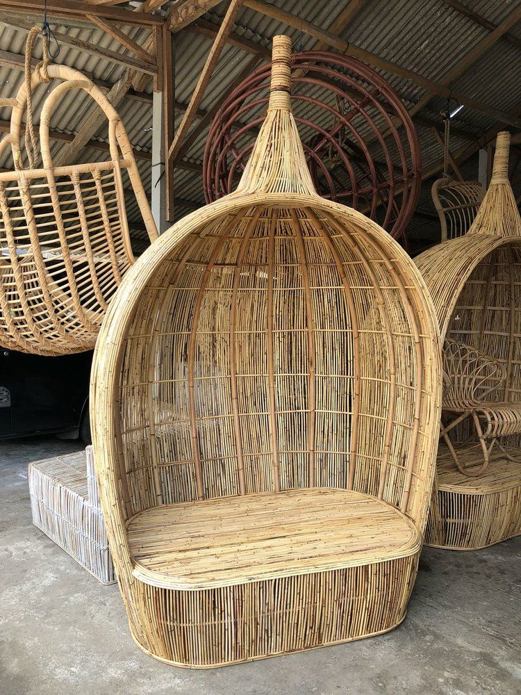 Double rattan chair | Rattan chair, Chair, Rattan