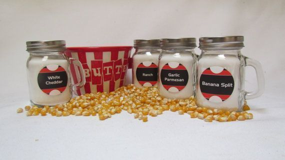 Popcorn Bar Shakers with Seasoning Gourmet Flavors DIY Popcorn Bar, Buffet Table Baby Shower, Birthday BBQ. Pick label designs and flavors #peachcobblercheesecakeinajar Popcorn Bar Seasonings Mason Jar Shakers for by InNonnasKitchen #peachcobblercheesecakeinajar Popcorn Bar Shakers with Seasoning Gourmet Flavors DIY Popcorn Bar, Buffet Table Baby Shower, Birthday BBQ. Pick label designs and flavors #peachcobblercheesecakeinajar Popcorn Bar Seasonings Mason Jar Shakers for by InNonnasKitchen #pea #peachcobblercheesecakeinajar