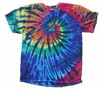 c2440e5d584 FreakyZ Tie Dye T-Shirt Gildan Heavy Cotton NoWhiteThreads Black ...