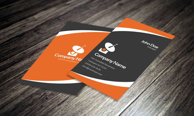 Design your awesome business card reheart Images