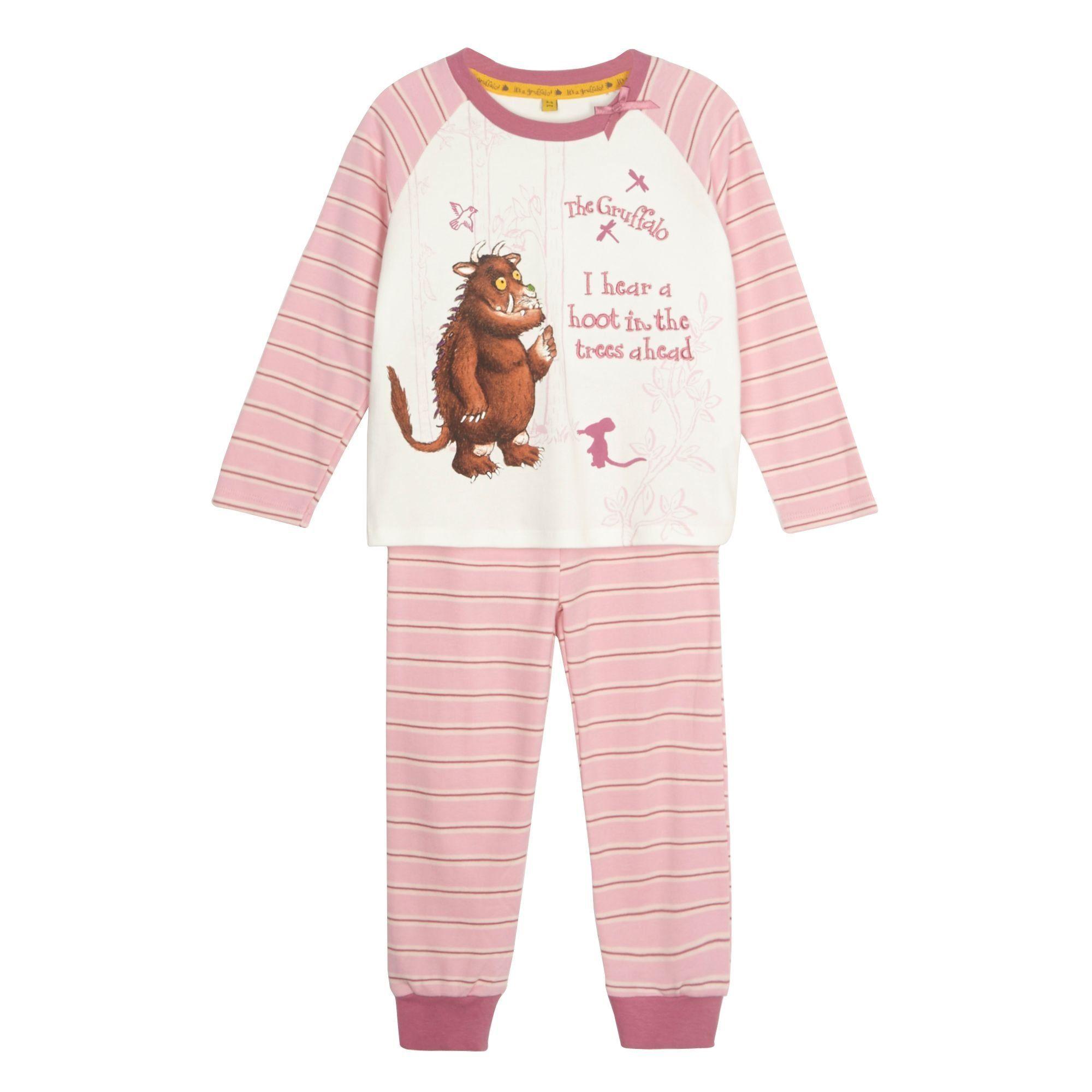 White apron sainsburys - The Gruffalo Kids Girl S Pink Gruffalo Pyjama Set The Gruffalo Amazon