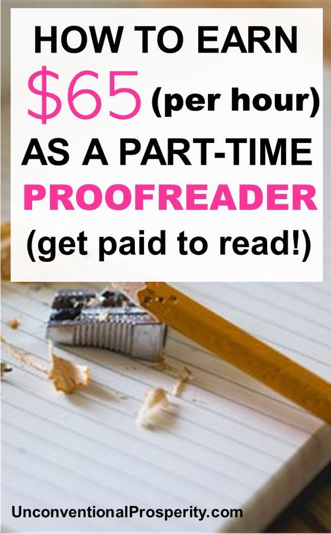How to Make $47,000+ a Year as a General Proofreader - Unconventional Prosperity
