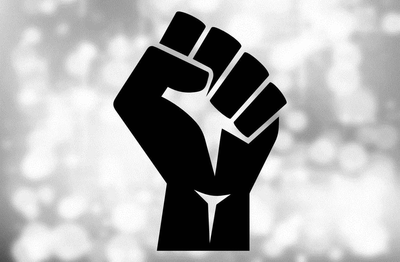 Shapes Clipart Large Black Power Fist Black Lives Matter Etsy Black Power Fist Black Lives Matter Black Lives