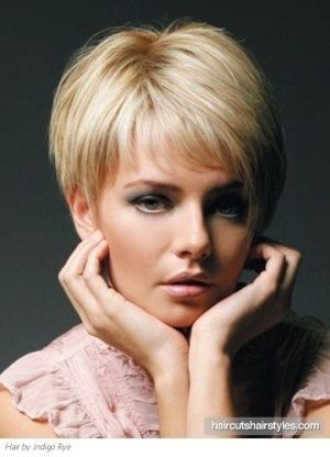 Short Haircuts For Older Women With Fine Hair Short Hair Styles