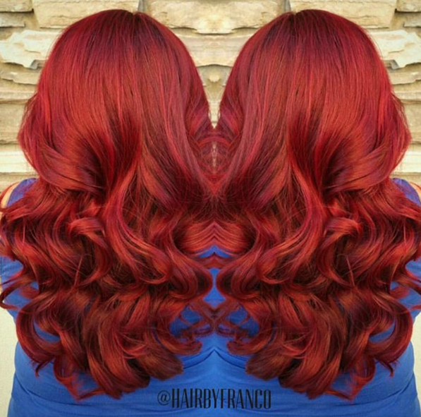 Hairbyfranco Created This Red Velvet Look Using Arcticfoxhaircolor Poison Arctic Fox Hair Color Hair Inspo Color Hair