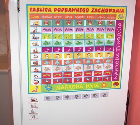 Magnetyczna Tablica Obowiazkow Motywacyjna Dzieci 4232794948 Oficjalne Archiwum Allegro