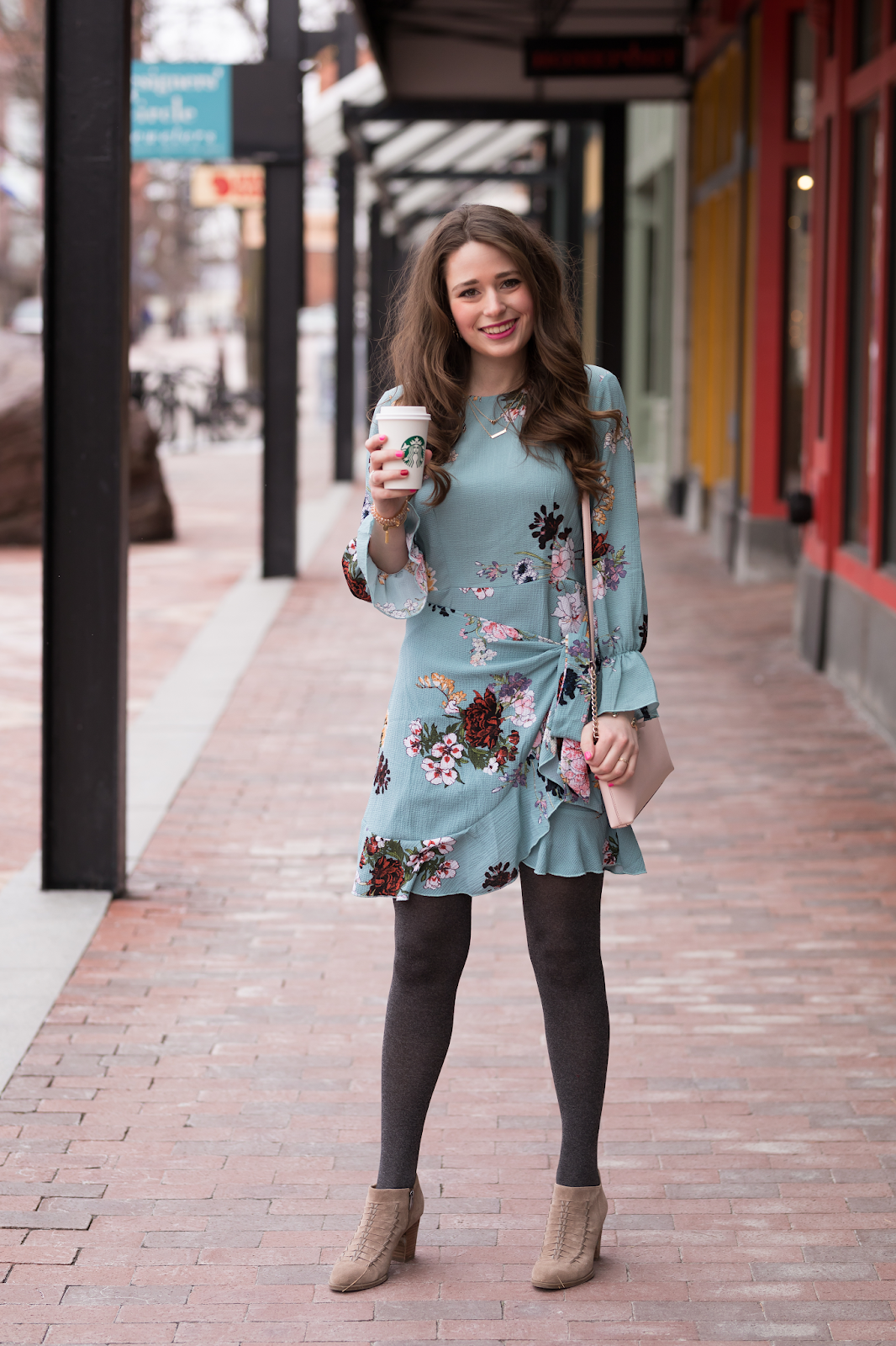Cold Weather Easter Outfit.  Cold spring outfit, Spring fashion