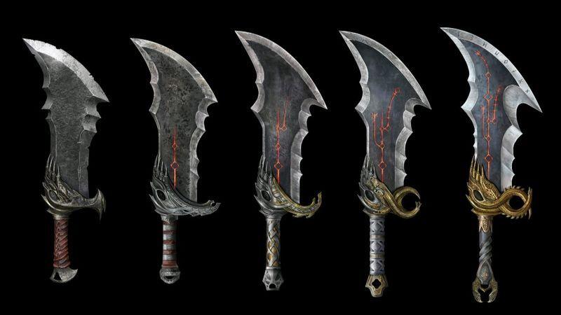 Kratos Blades Of Chaos God Of War 2018 With Images Kratos God