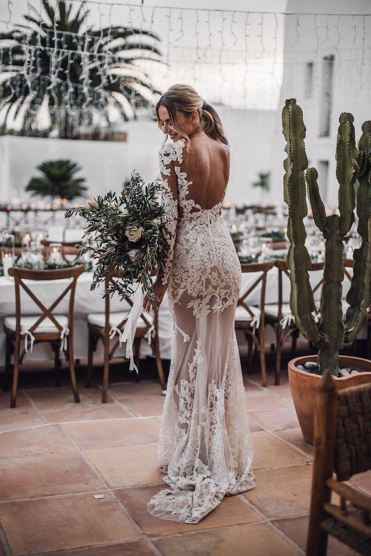 Bridal Dress - My Story with Berta-berta-dress_berta_bride_blogger_wedding_ibi ... - Lace Wedding Dresses #bertaweddingdress