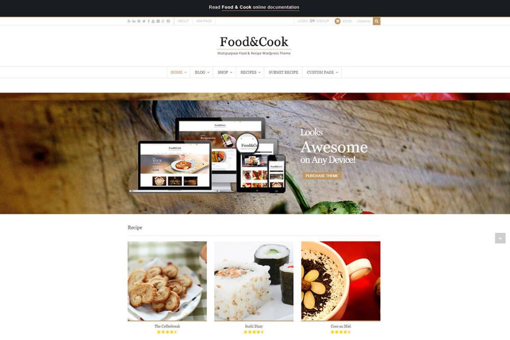 18 Best Food Recipe WordPress Theme 2021 Share Your Recipes Best Foods Good Food Food Themes