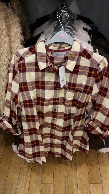 Dp checked shirt £22 petite.