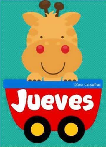 Dias De La Semana Salones De Preescolar Dibujos Para Preescolar Materiales Para Preescolar