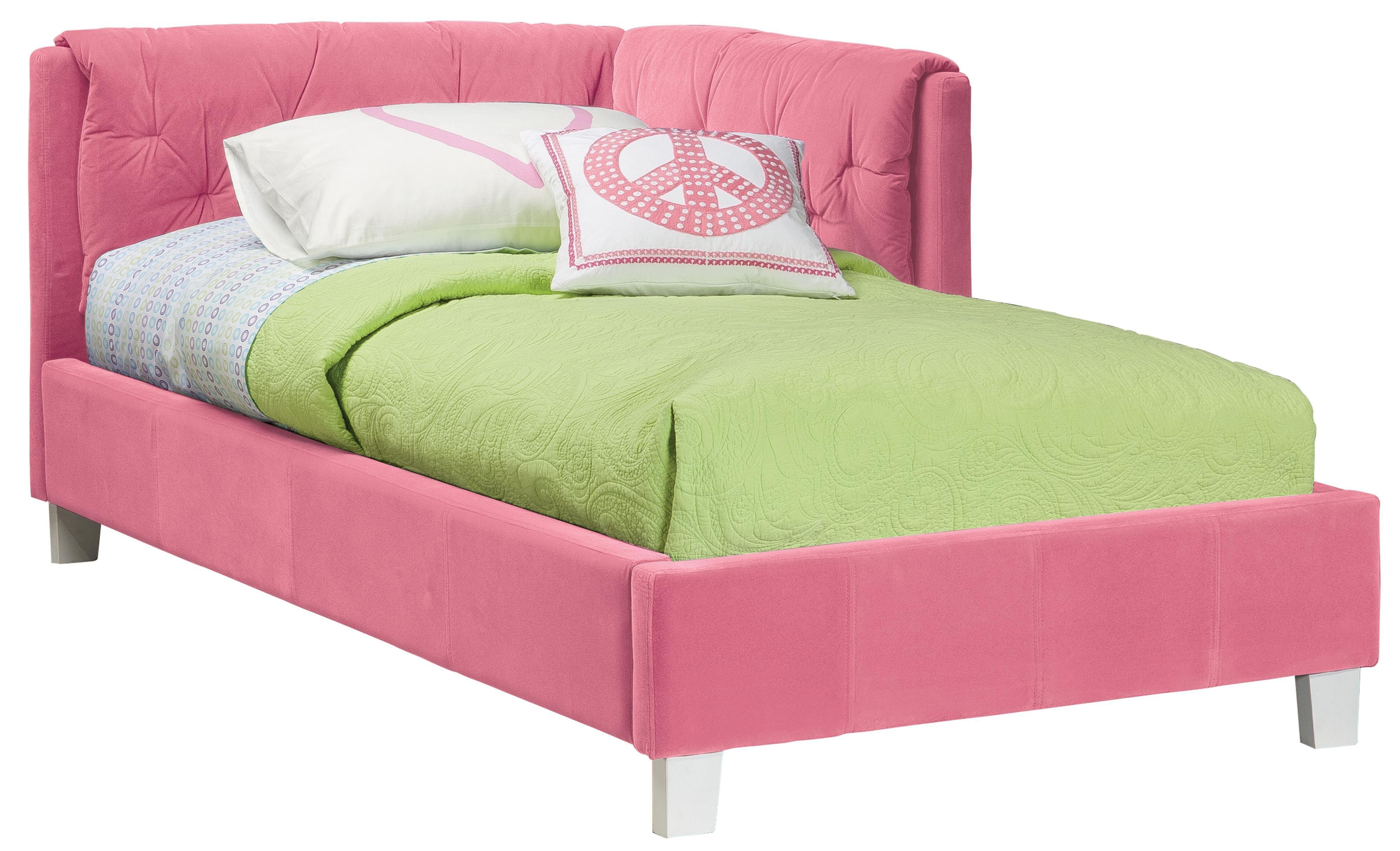 Standard Furniture My Room Twin Platform Upholstered Bed