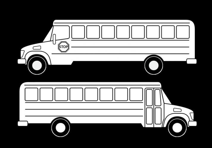 School Bus Vector Drawing Public Domain Vectors School Bus Drawing School Bus Bus