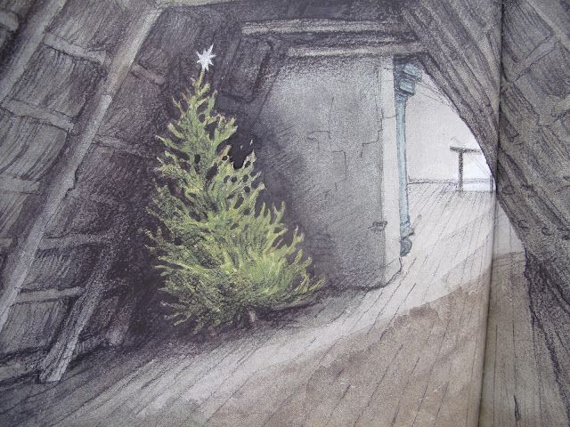 'The Fir Tree'  by Hans Christian Andersen   illustrated by Svend Otto S. aka Svend Otto Sørensen (1916-96)