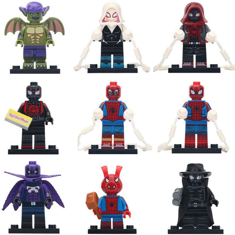 Action Figures Building Blocks DC Comics New Small Toys TV Movie Hobbies Games