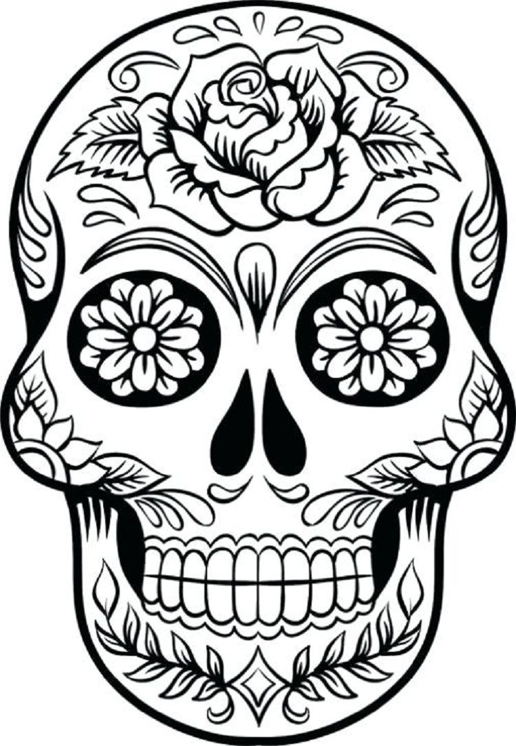 Skull Candy Coloring Pages Check More At Coloringareas 7544
