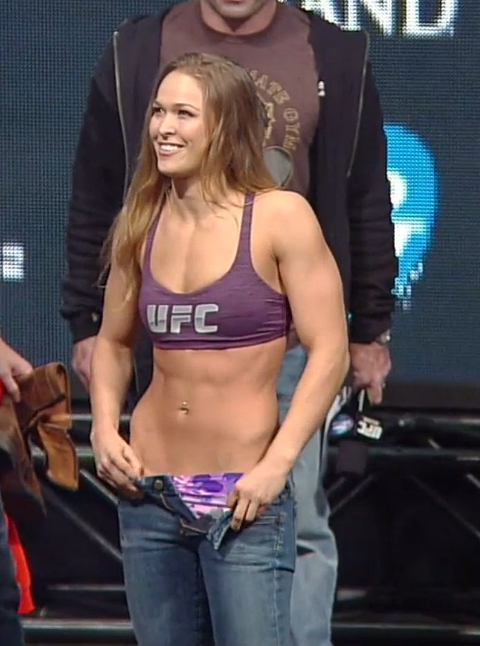 Think, that ronda rousey hot excellent