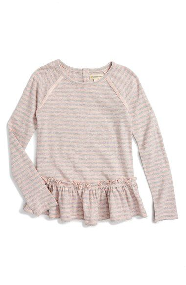 Tucker + Tate Sparkle Stripe Top (Toddler Girls, Little Girls & Big Girls) available at #Nordstrom