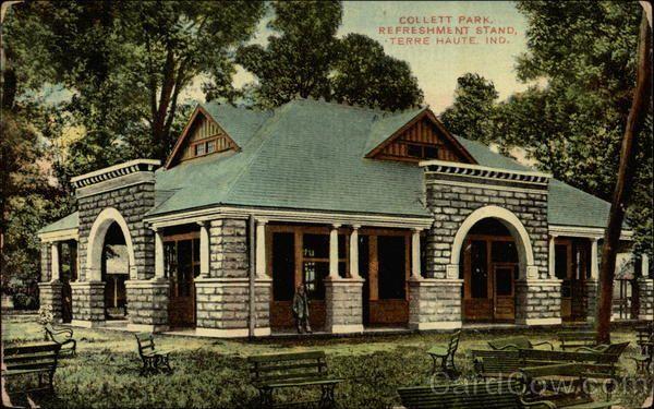 Collett Park Refreshment Stand Terre Haute, IN
