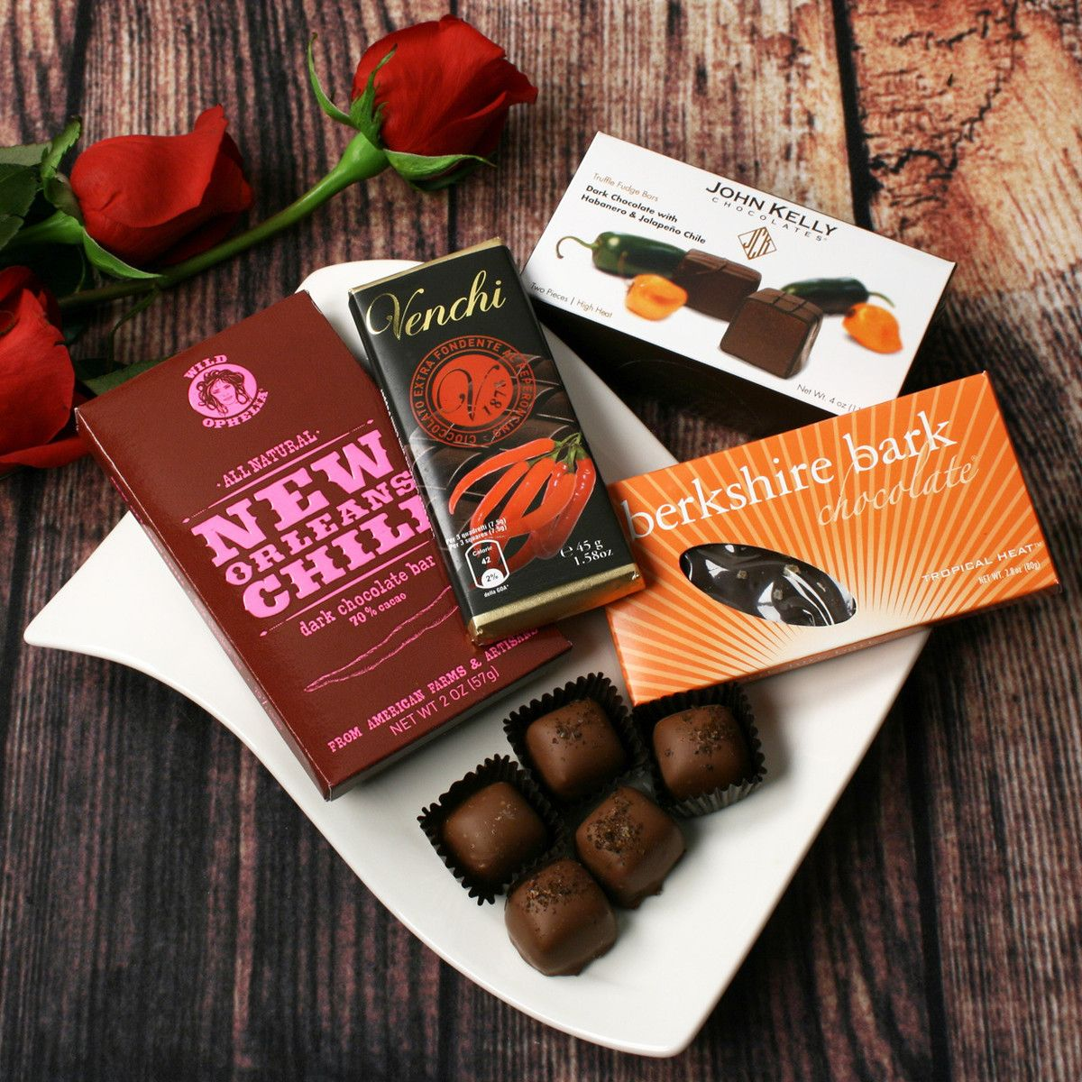 Spicy chocolate collection collection includes apple for Cucinare jalapenos