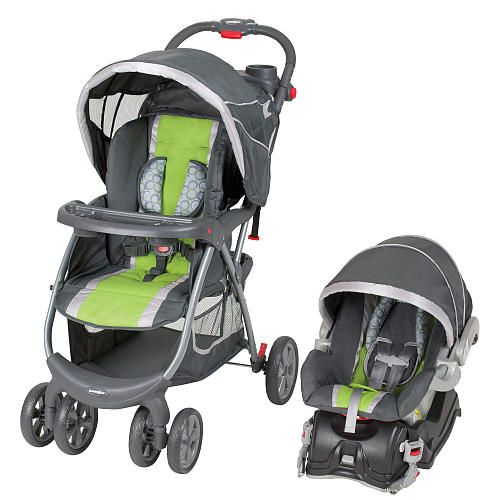Baby Trend Pioneer Travel System - Limeade