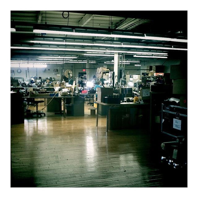 Dynalite factory    Lighting gear for pro made in the USA! I <3 that my gear was made here!